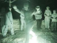 Славянские обряды у костра. Прыжки через костер