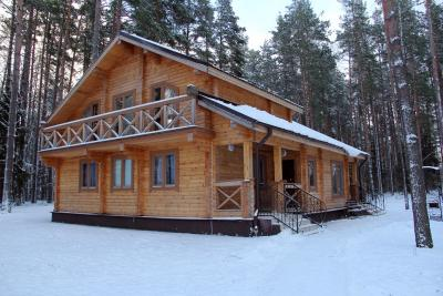 Дом в Березенском заповеднике